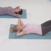Exercícios abdominais incorretos