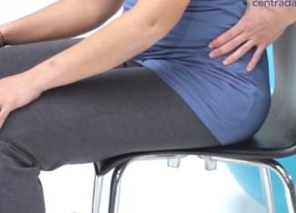 Como estar sentada corretamente na gravidez