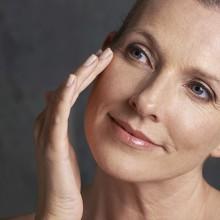 pele durante a menopausa