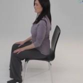 Senta-se e levanta-se corretamente?