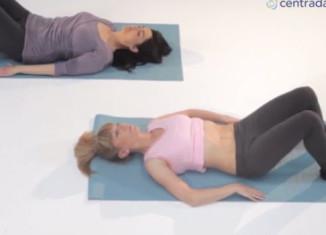Exercício básico recomendável no pós-parto: hipopressivo