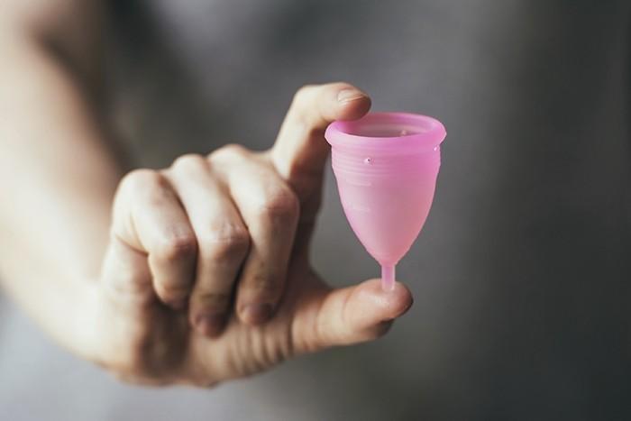 copo menstrual perimenopausa