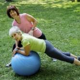 Exercite-se com a Fitball!