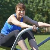 Exercite o pavimento pélvico nos ginásios ao ar livre!