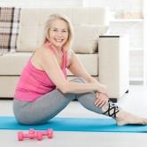 Cinco exercícios que fortalecem os ossos na menopausa